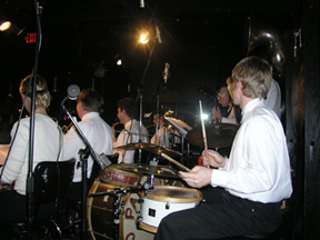 Phil Ogilvie's Rhythm Kings performing